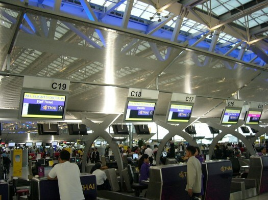 Thai_Airways_Check-in