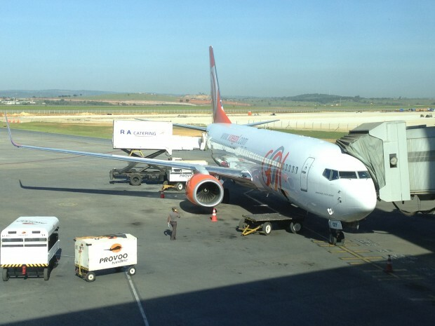 O 737-800 PR-GUY novinho