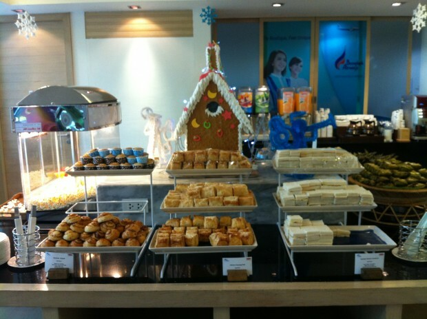 Bangkok airways snacks