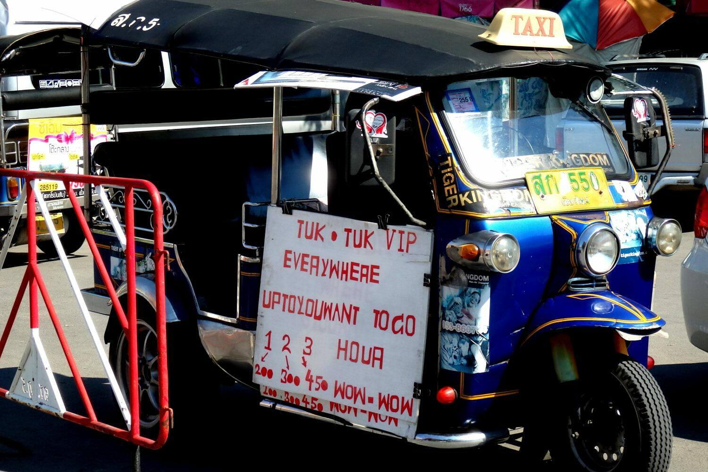 Tuk-tuk tailandês