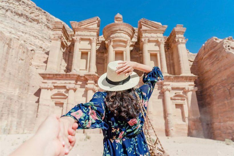 Petra, na Jordânia