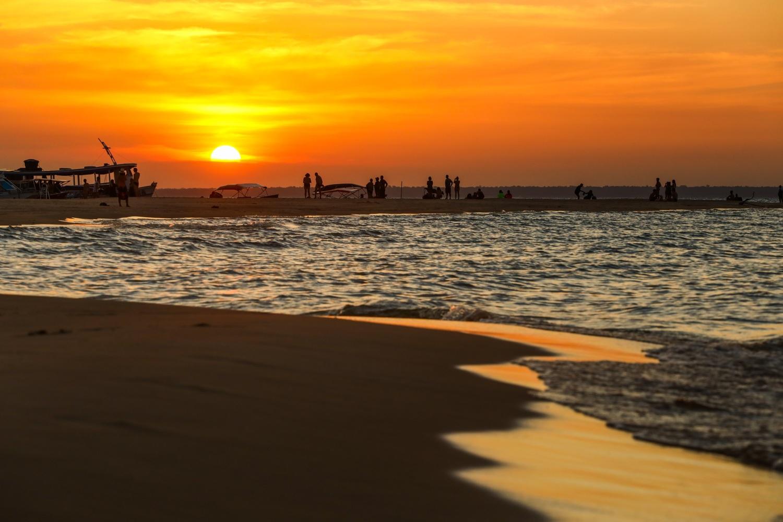 Pôr do Sol na Ponta do Cururu