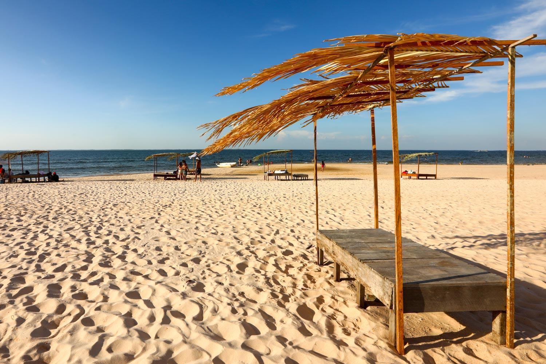 Praia do Carapanari em Alter do Chão