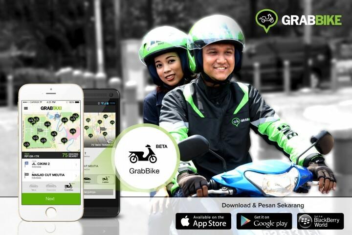 grab bike app mototaxi