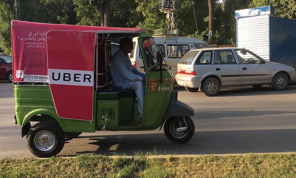 uber riquixa