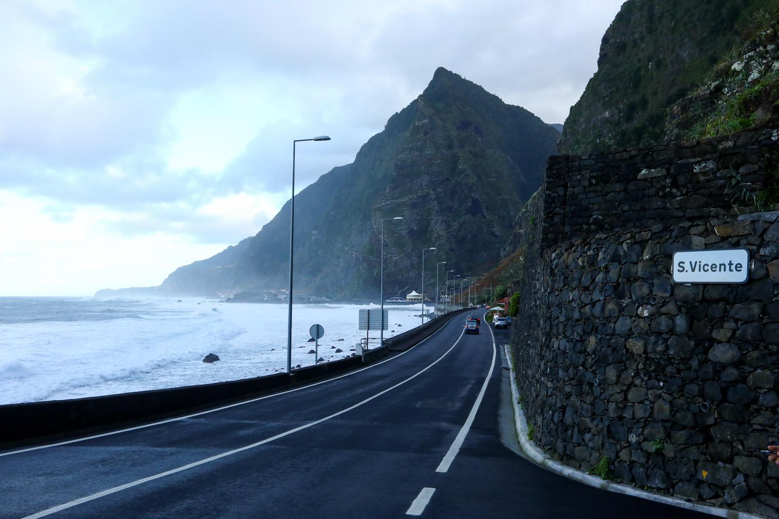 Estradas na Ilha da Madeira