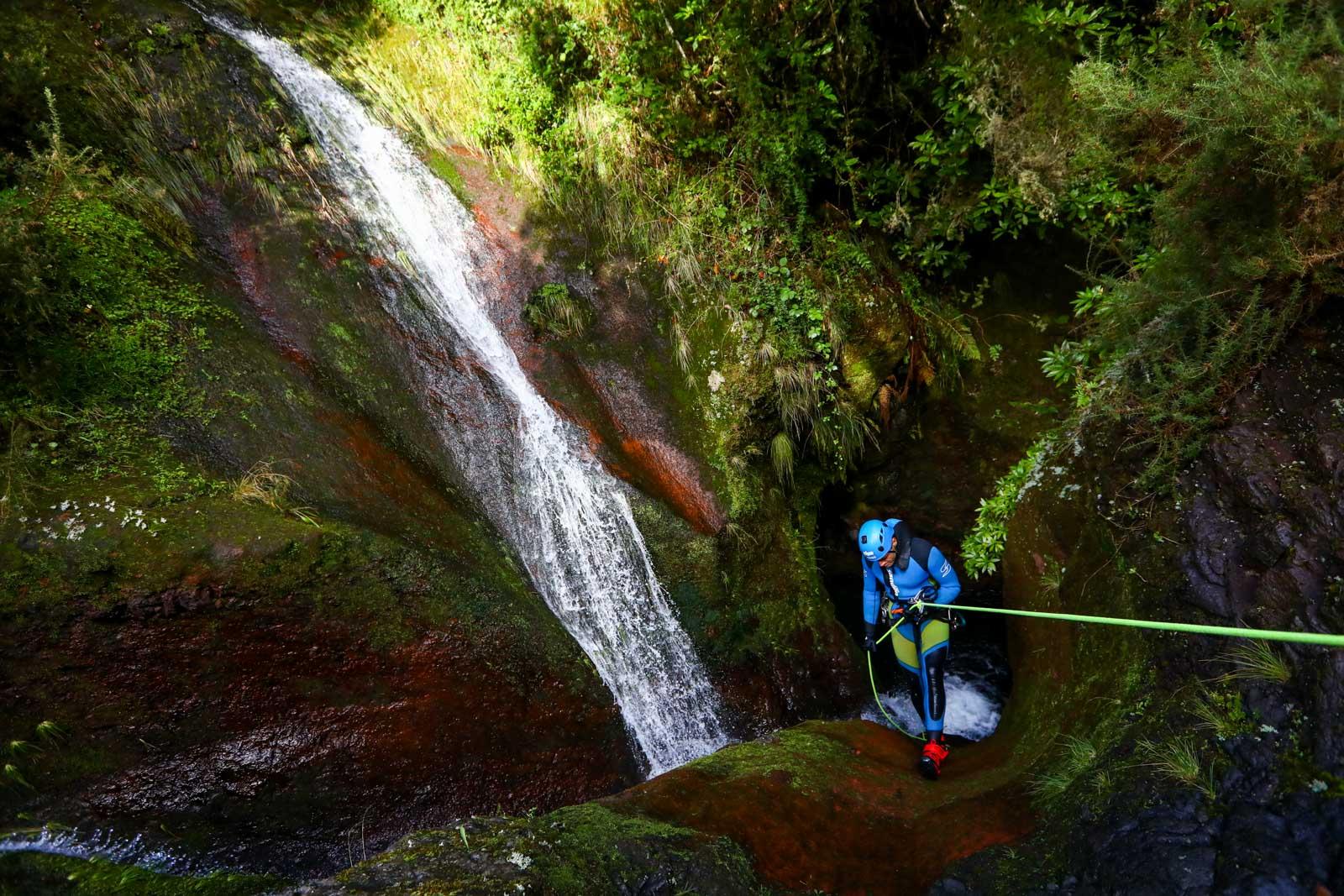 Canionismo na Ilha da Madeira
